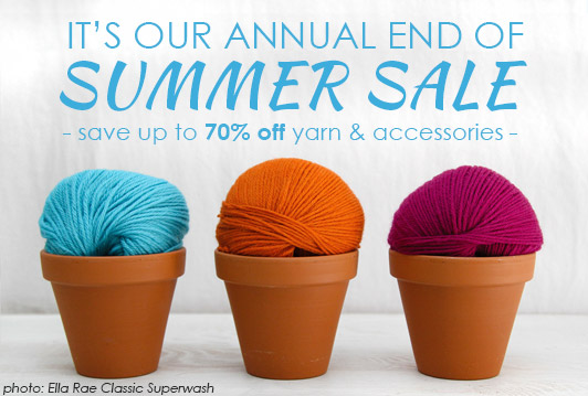 WEBS End of Summer Sale