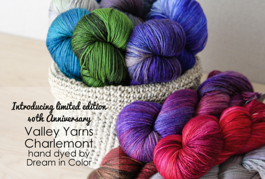 Valley Yarns 40th Anniversary Charlemont - Hand-Dyed by Dream in Color