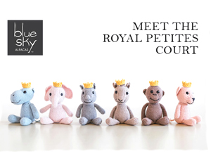 Blue Sky Alpacas Royal Petite Baby Knit Kits