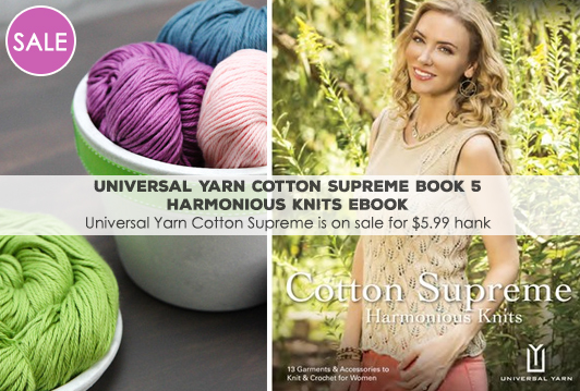 Universal Yarn Cotton Supreme Book 5