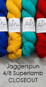Jaggerspun 4/8 Superlamb Closeout