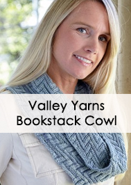 Valley Yarns 677 Bookstack Cowl