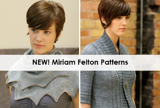 New Patterns from Miriam Felton