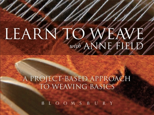 Learn to Weave with Anne Field book