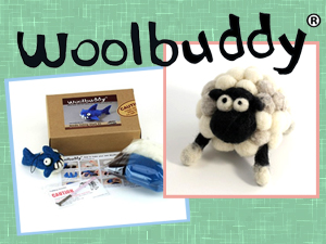 Woolbuddy Needle Felting Kit