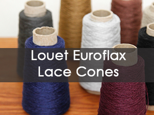 Louet Euroflax Lace Cones