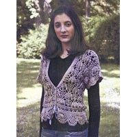 111 Silk Blossom Crocheted Cardigan