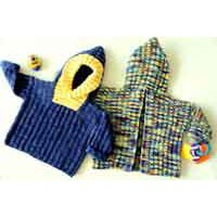 CH39 Back Zip Baby Sweater