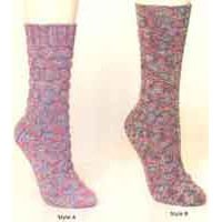 S132 2 Styles Ladies Socks