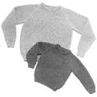 16 English Rib Pullover for Children & Adults