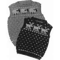 3 Child's Sheep & Reindeer Vests