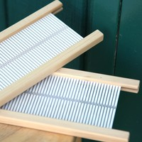 Rigid Heddle - Weaving with Two Heddles
