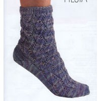 Fishbone Lace Sock