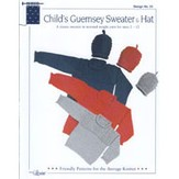 Louise 23 Child's Guernsey Sweater & Hat