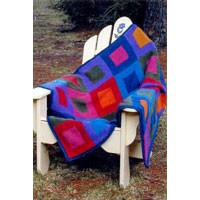 512 Painter's Palette Color Block Blanket