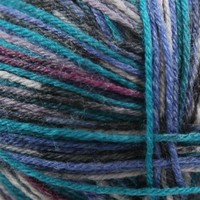 Supersocke 4-Ply Bambus Color