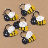 Lantern Moon Bee Stitch Markers