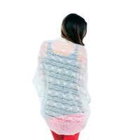 Cocoon Cable Shawl PDF