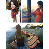 Striped Shawls (PDF)