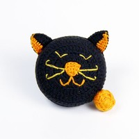 Black and Orange Cat Tape Measure