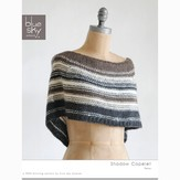 Blue Sky Fibers Shadow Capelet (Free)