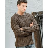 Blue Sky Fibers Men's Ribbed Sweater