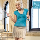 Blue Sky Alpacas Pleated Skirt