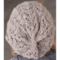 Fishtail Lace Slouch Hat (Free)