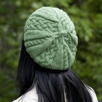 W425 Cascade Yarns Cloud Braided Beret (Free)