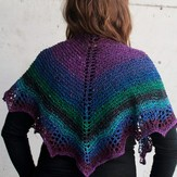 Cascade Yarns Waves Shawlette (Free)
