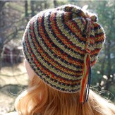 Classic Elite Yarns Textured Ski Hat (Free)