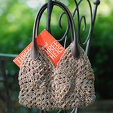 Classic Elite Yarns Granny Square Purse (Free)