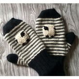 Classic Elite Yarns Valais Blacknose Sheep Mittens (Free)
