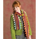 Classic Elite Yarns 1417 Sawtooth Edge Scarf PDF