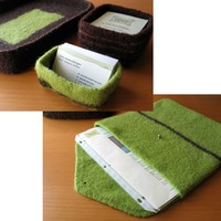 Felted Desk Accessories