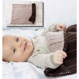 Debbie Bliss Running Stitch Blanket PDF