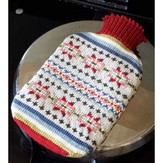 Debbie Bliss Fair Isle Hot Water Bottle Cover PDF