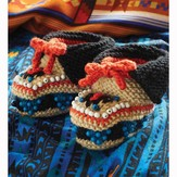Debbie Bliss Beaded Moccasins PDF - Magazine #9