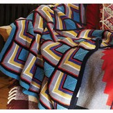 Debbie Bliss Log Cabin Blanket PDF - Magazine #9
