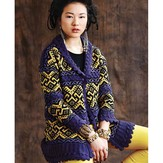 Debbie Bliss Brocade Jacket PDF - Magazine #11