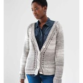 Debbie Bliss V-Neck Cardigan PDF
