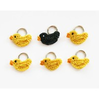 Duck Stitch Markers