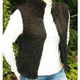 Lisa Ellis Designs Super Bulky Winter Vest