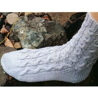 A-9 Magic Loop Cable Socks PDF