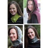 Lisa Ellis Designs H-30 Hooded Scarves and Cowls PDF