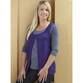 Valley Yarns WEBS Emerging Designer #07 Got You Covered Vest PDF