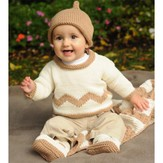 Figheadh Yarnworks 2221 Little Charlie Brown Baby Set PDF