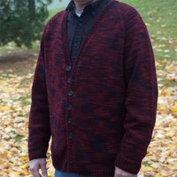 F14 Fundamental Top Down Men's Cardigan PDF