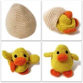 FreshStitches Russ the Chick in an Egg PDF