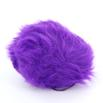 Universal Yarn Luxury Fur Pom Poms - Purple